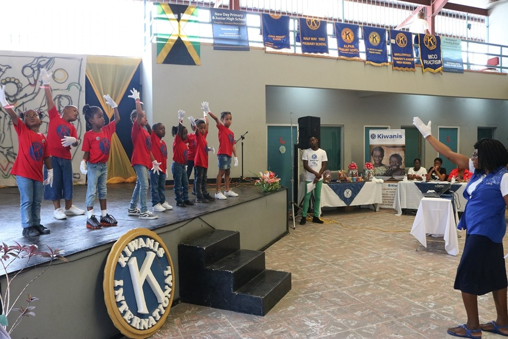 The 245 Builders Clubbites and K-Kids in attendance participated in dancing, poetry, instruments and singing competitions.