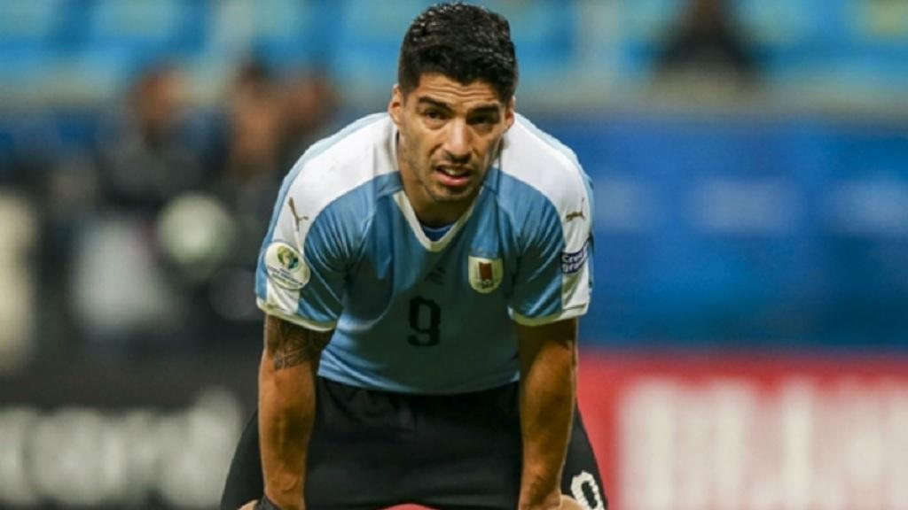 Uruguay star Luis Suarez.
