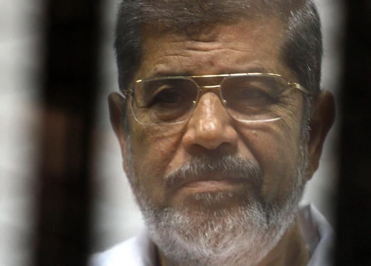 L'ancien président égyptien Mohamed Morsi le 9 mai 2014 au Caire, en Egypte / AFP/Archives