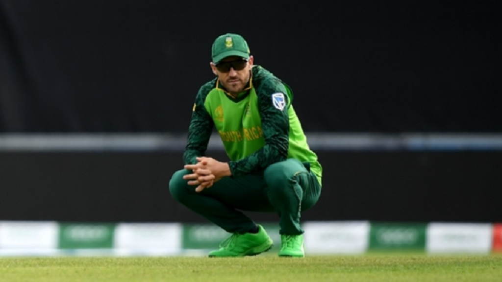 Faf du Plessis needs a big performance from his team.
