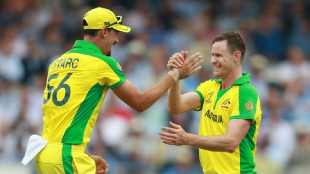 Mitchell Starc and Jason Behrendorff.
