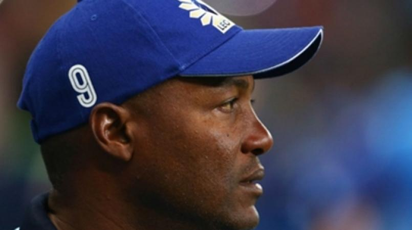 West Indies cricket legend Brian Lara.