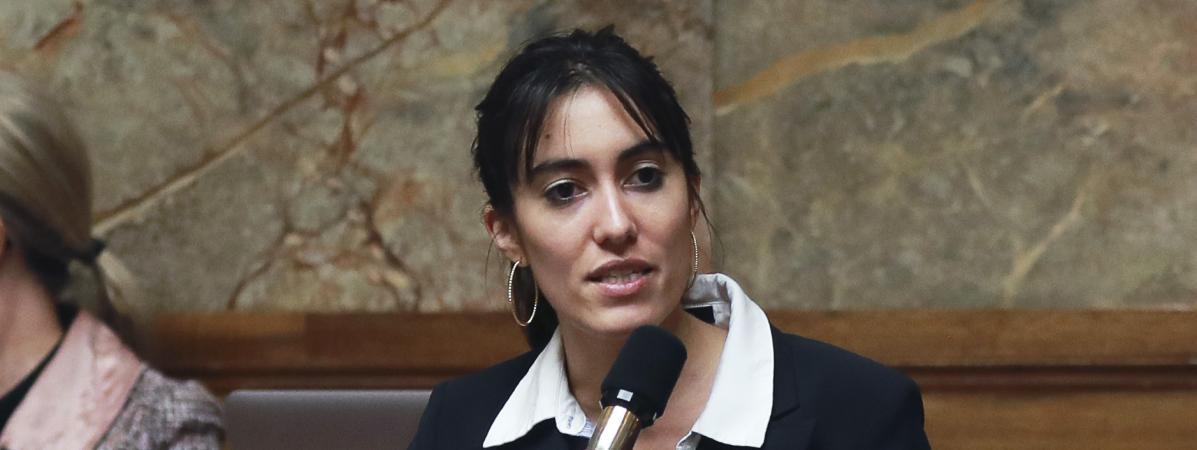 La députée LREM Paula Forteza (JACQUES DEMARTHON / AFP)