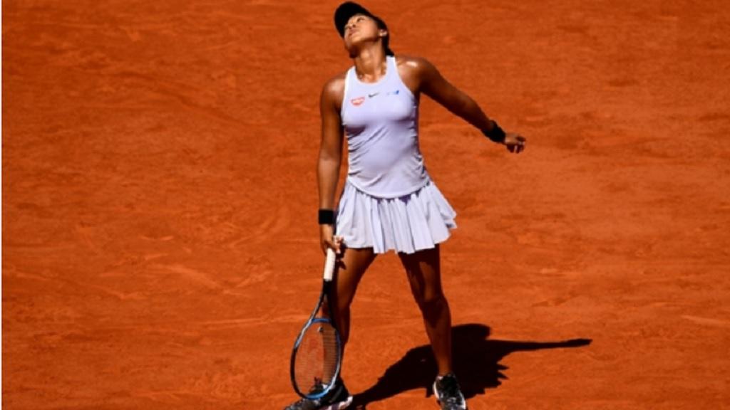 Naomi Osaka at Roland Garros.