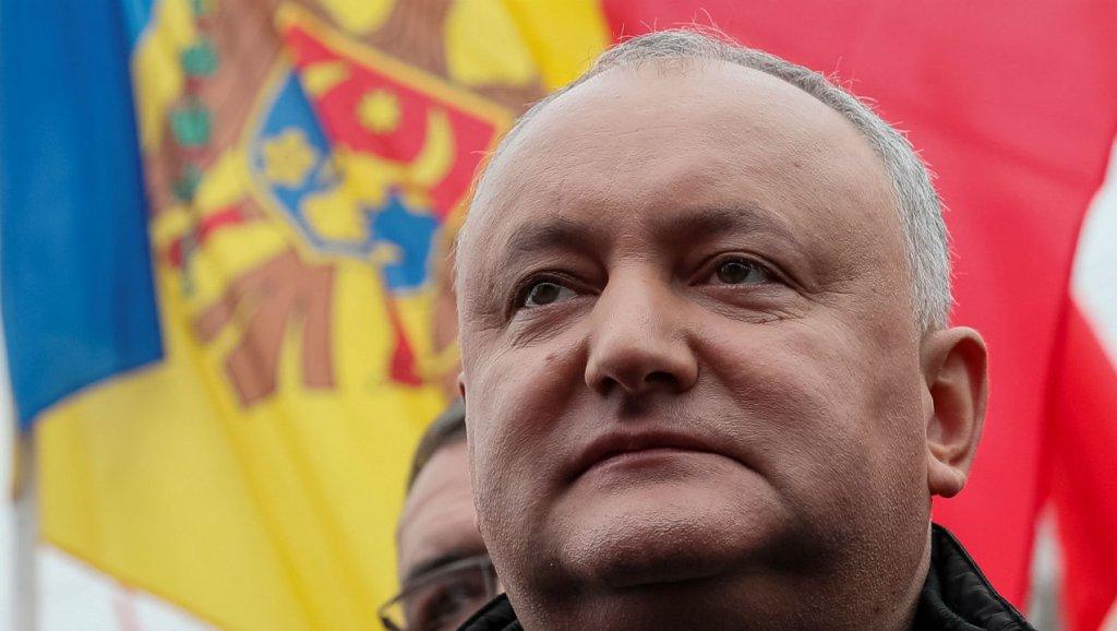Le président Igor Dodon a été suspendu par la Cour constitutionnelle moldave le 9 juin 2019. Gleb Garanich, Reuters