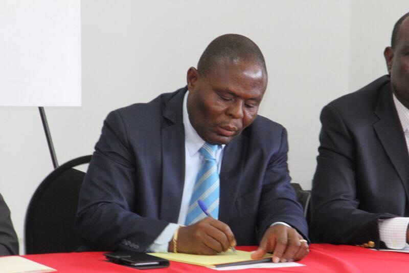 Le ministre de l'éducation nationale et de la formation professionnelle, Pierre Josué Agénor Cadet