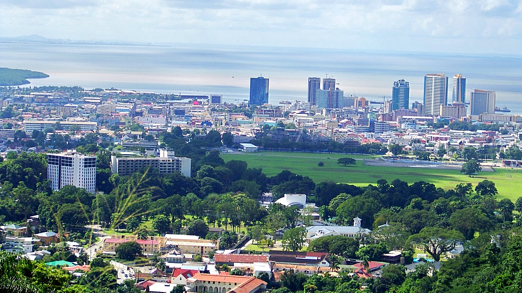 Photo: Port of Spain, Trinidad and Tobago's capital. Photo via Wikipedia.