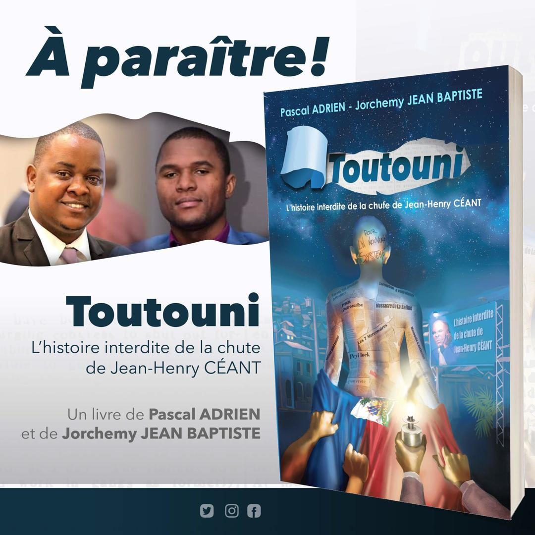 Première et quatrième de couverture de l'ouvrage/ Crédit: Jorchemy Jean-Baptiste et Pascal Adrien