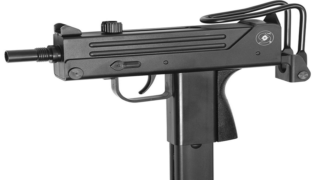 File photo of a Mac-11 submachine gun.