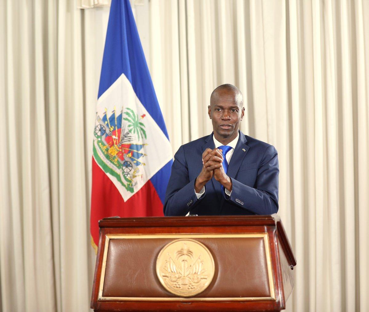 Le président Jovenel Moïse / Photo: La Présidence