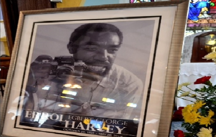 JIS photo of the late Errol Harvey