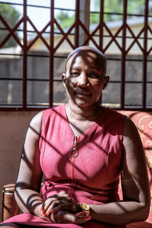 Beatrice Mateyo, une militante féministe, le 22 mai 2019 à Lilongwe, au Malawi