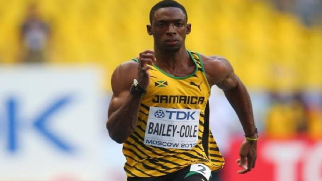 Sprinter Kemar Bailey-Cole.