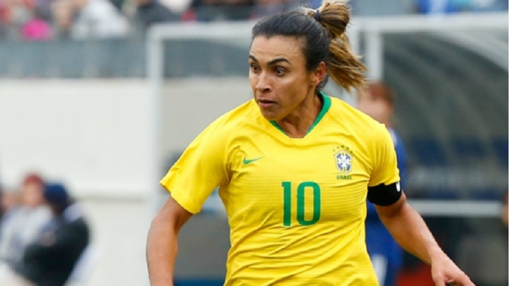 Brazil star Marta will lead her country at the Women's World Cup.