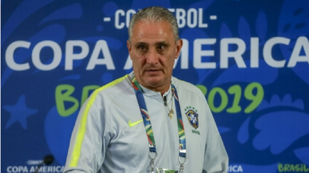 Brazil coach Tite.