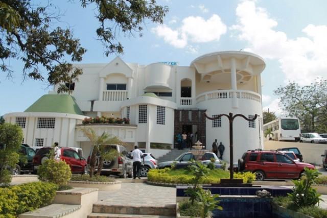 Une vue partielle des locaux de la Cour Supérieure des Comptes et du Contentieux administratif./Photo: Loop Haiti-archives.
