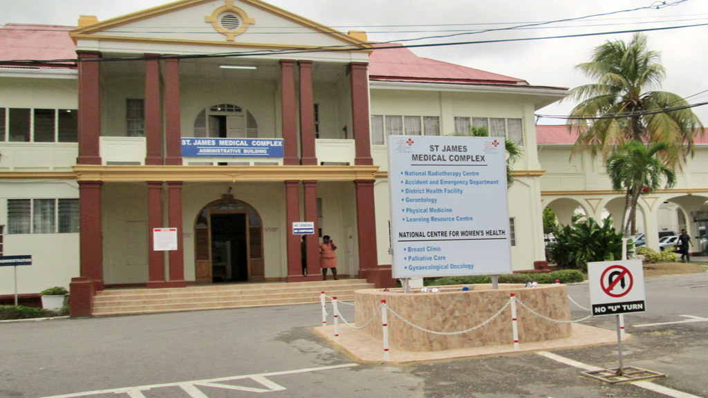 St James Medical  Complex via the North West Regional Health Authority (NWRHA).