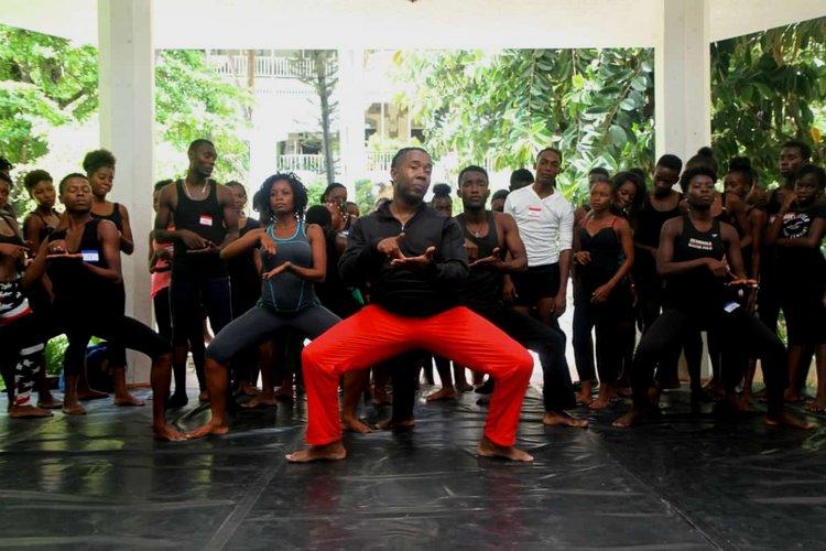 Jean Appolon Expressions /// Haiti Summer Dance Institute. Image Credit: JEAN APPOLON EXPRESSIONS