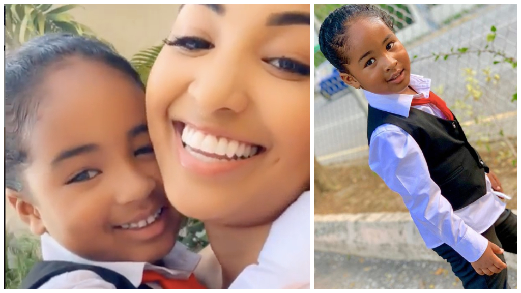 Shenseea and Rajeiro on Graduation Day 2019.