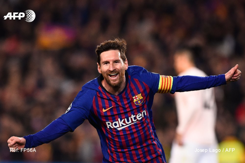 L'attaquant Argentin, Lionel Messi