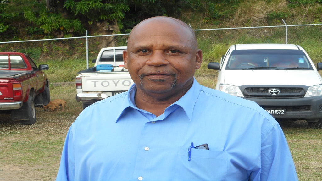 Minister of Agriculture Ezechiel Joseph
