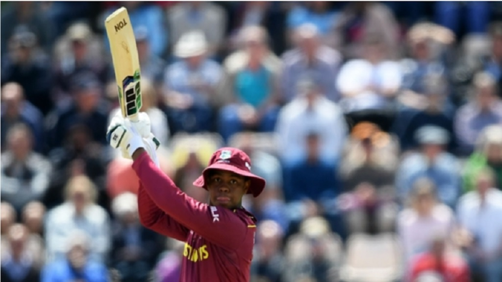 West Indies batsman Shimron Hetmyer.