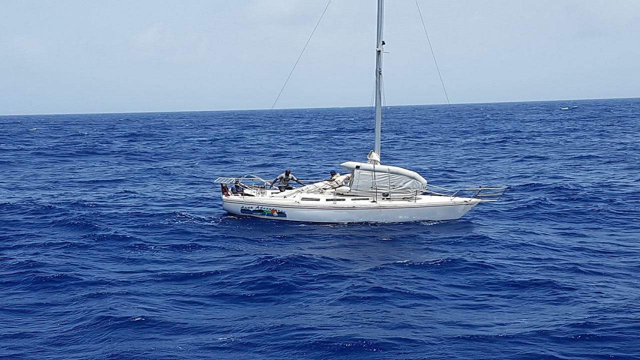 File photo of a Jamaica Defence Force (JDF) Coast Guard vessel at sea.
