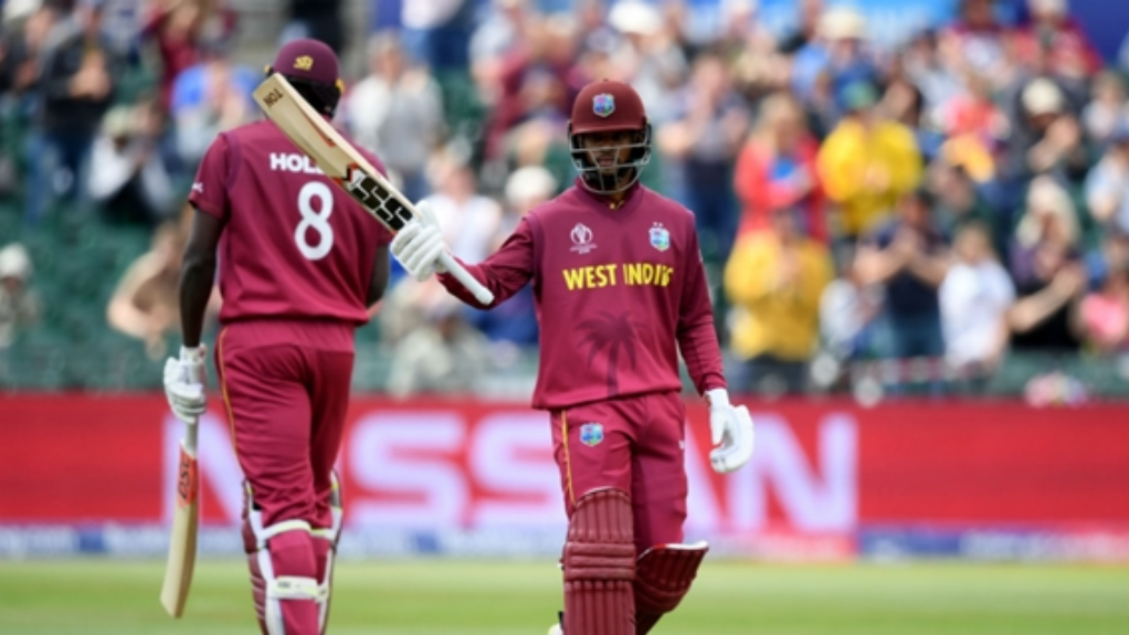 Shai Hope scored 101 in West Indies' final warm up match