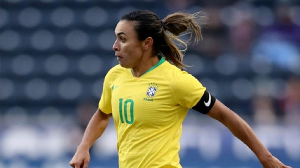 Brazil forward Marta.