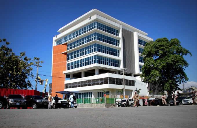 La façade du bâtiment du ministère de l'Intérieur et des Collectivités territoriales./Photo: Archives.