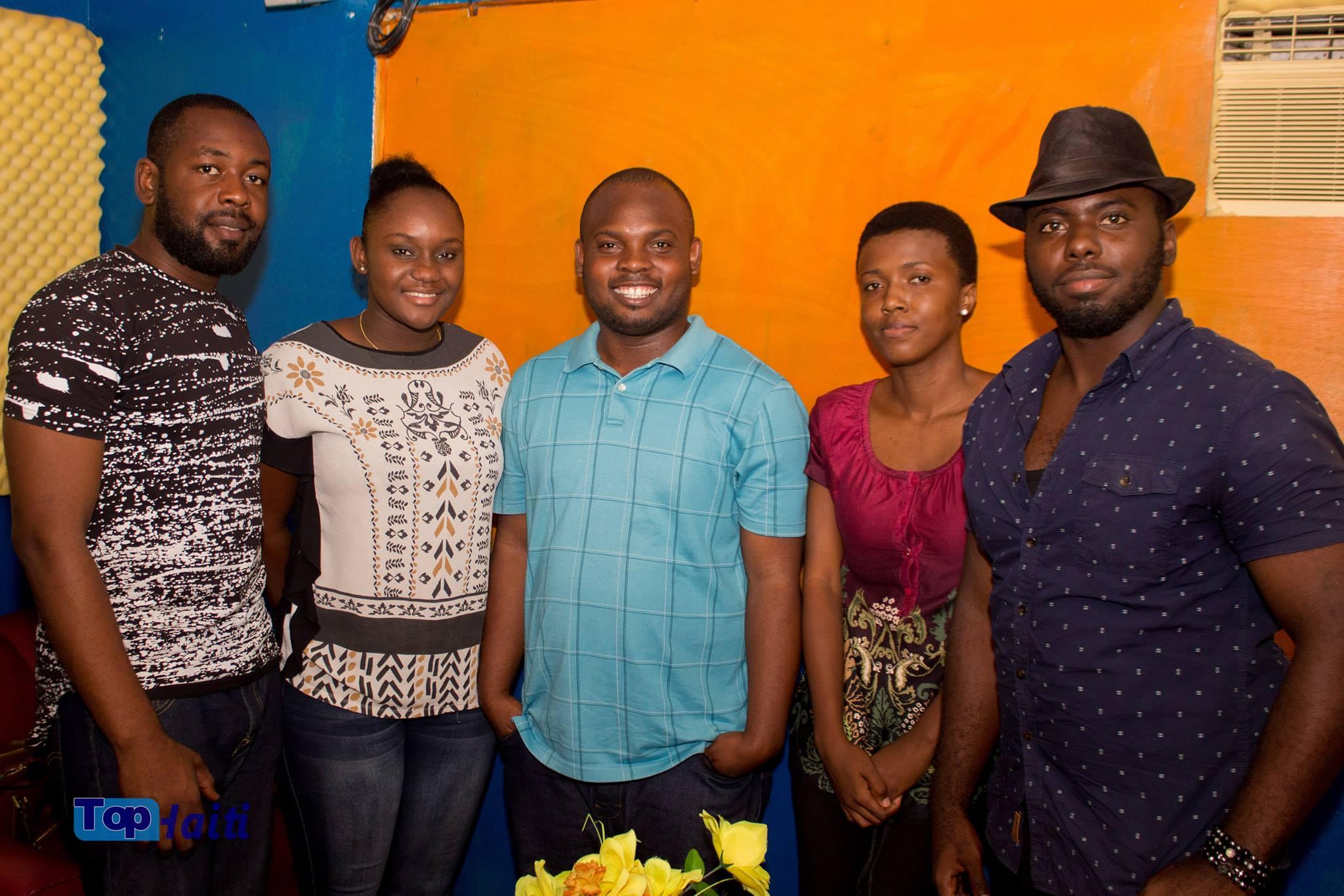L'équipe de Top Haiti