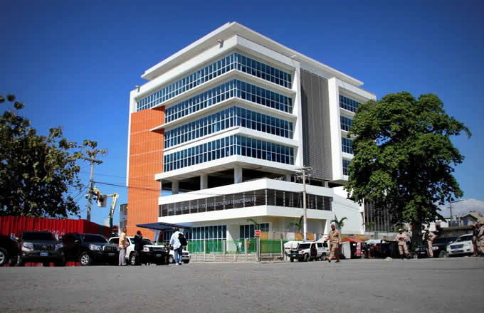 Photo nouveau bâtiment du Ministère de l'Intérieur et des collectivités territoriales (MICT)