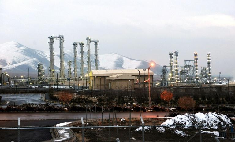 La centrale d'Arak où l'Iran avait un projet de construction d'un réacteur à eau lourde. Photo d'archives du 15 janvier 2011