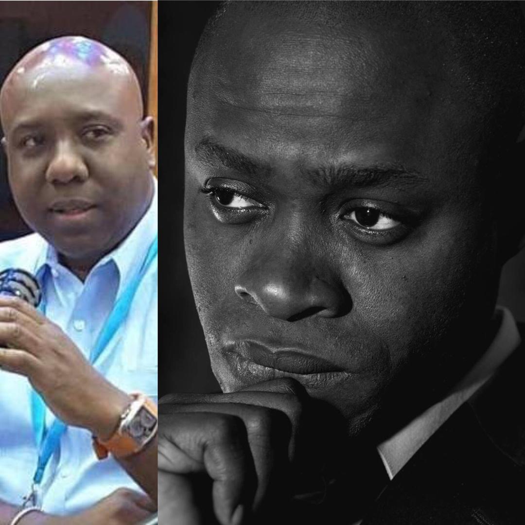 A gauche, Pétion Rospide, tué le 10 juin 2019/ A droite, Philomé Robert, journaliste haïtien exilé en France.