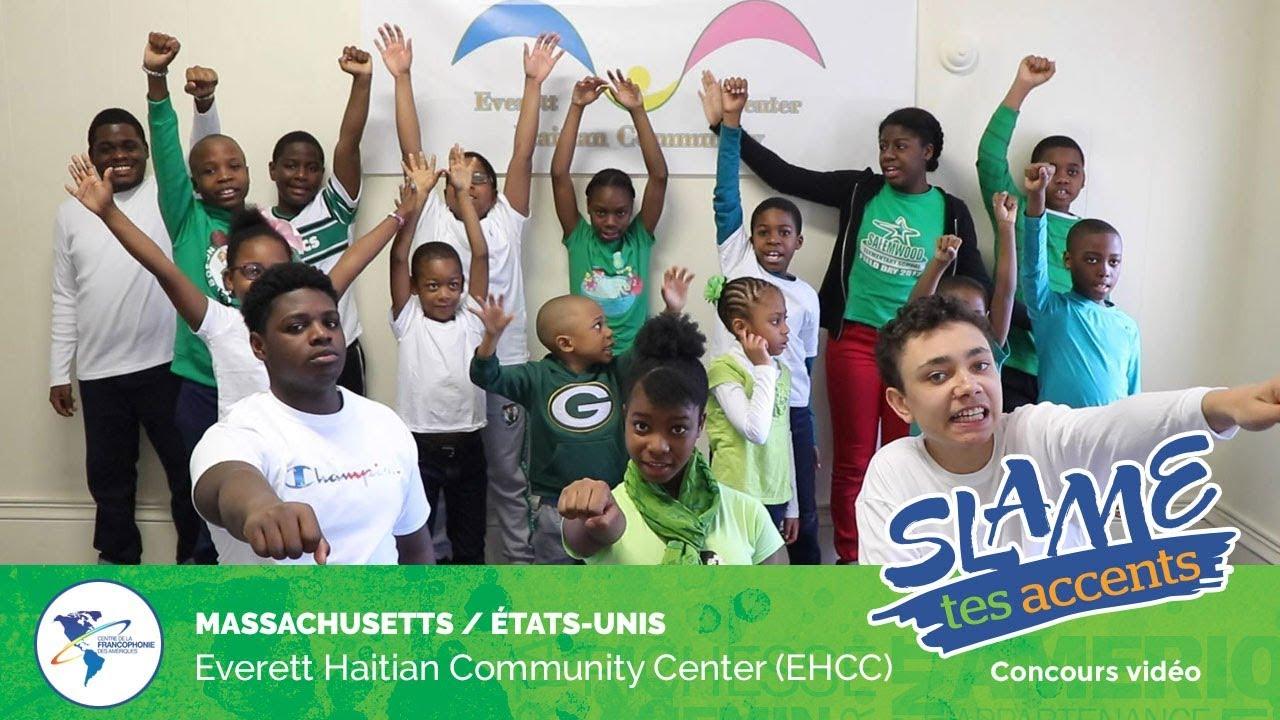 Le centre communautaire haïtien, basé à Everett (Boston) est sorti deuxième gagnant du grand concours international Slame tes accents.