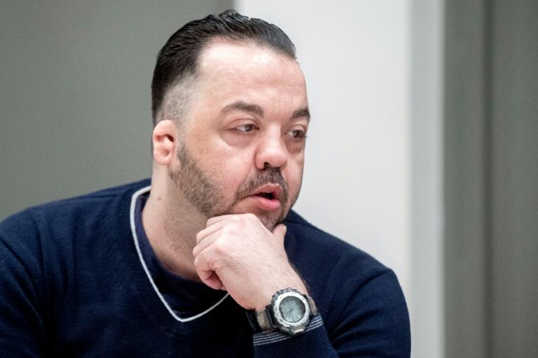 L'ex-infirmier Niels Högel, accusé du meurtre d'une centaine de patients, attend le verdict au tribunal d'Oldenbourg, en Allemagne, le 6 juin 2019. POOL/AFP / Hauke-Christian Dittrich