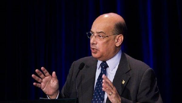 Sir Ronald Sanders, ambassadeur d'Antigua et Barbuda aux Etats-Unis et à l'OEA/ Photo: Caribbean360