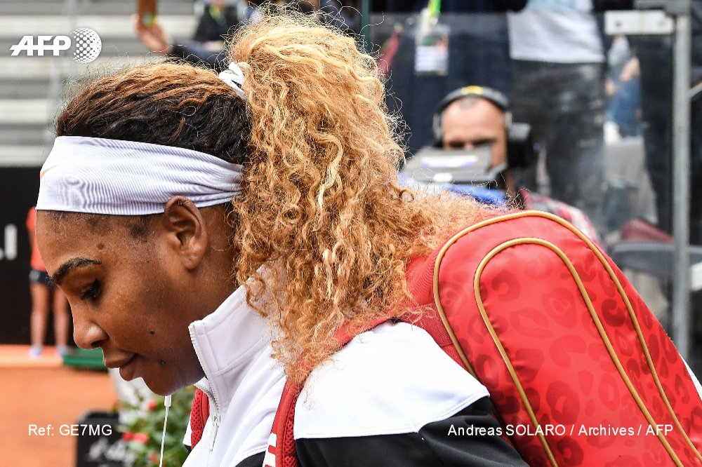 L'Américaine Serena Williams éliminée au 3e tour de Roland-Garros le 1er juin 2019