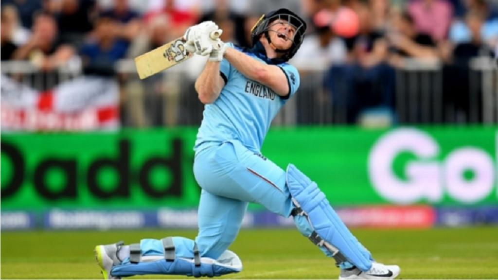 England batsman Eoin Morgan.