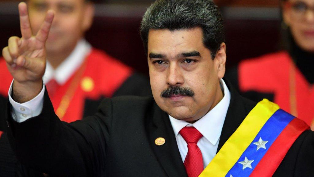 Le président vénézuélien Nicolas Maduro./Photo: France24.