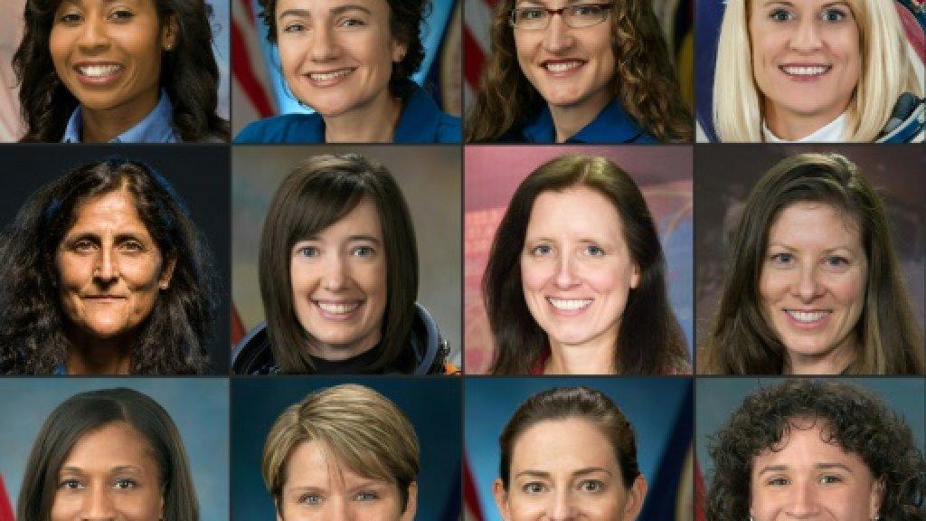 Les 12 femmes astronautes actuelles de la Nasa NASA/AFP