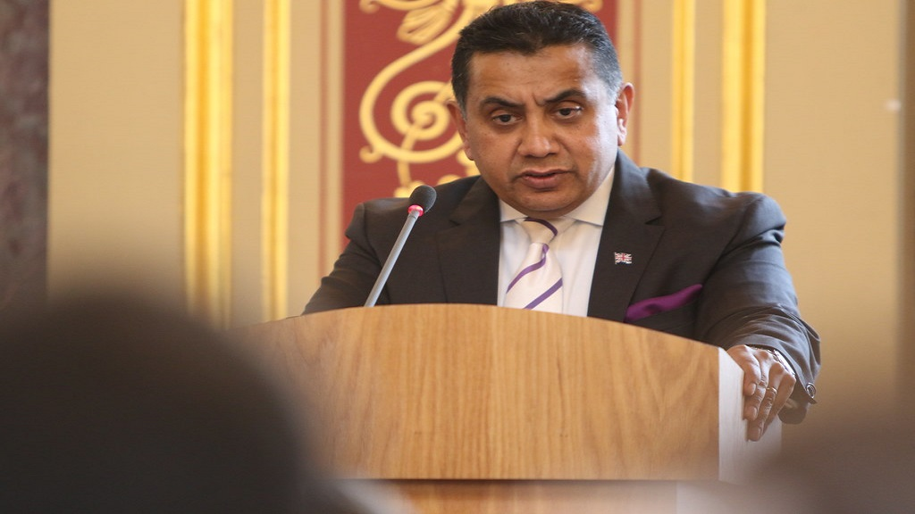 UK Minister of State, Lord Ahmad of Wimbledon