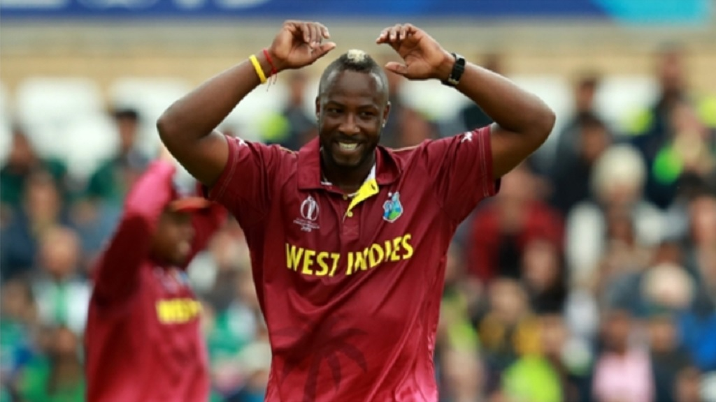 Jamaica and West Indies star Andre Russell.