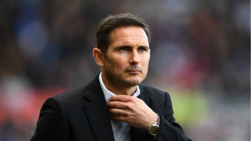Derby County boss Frank Lampard.