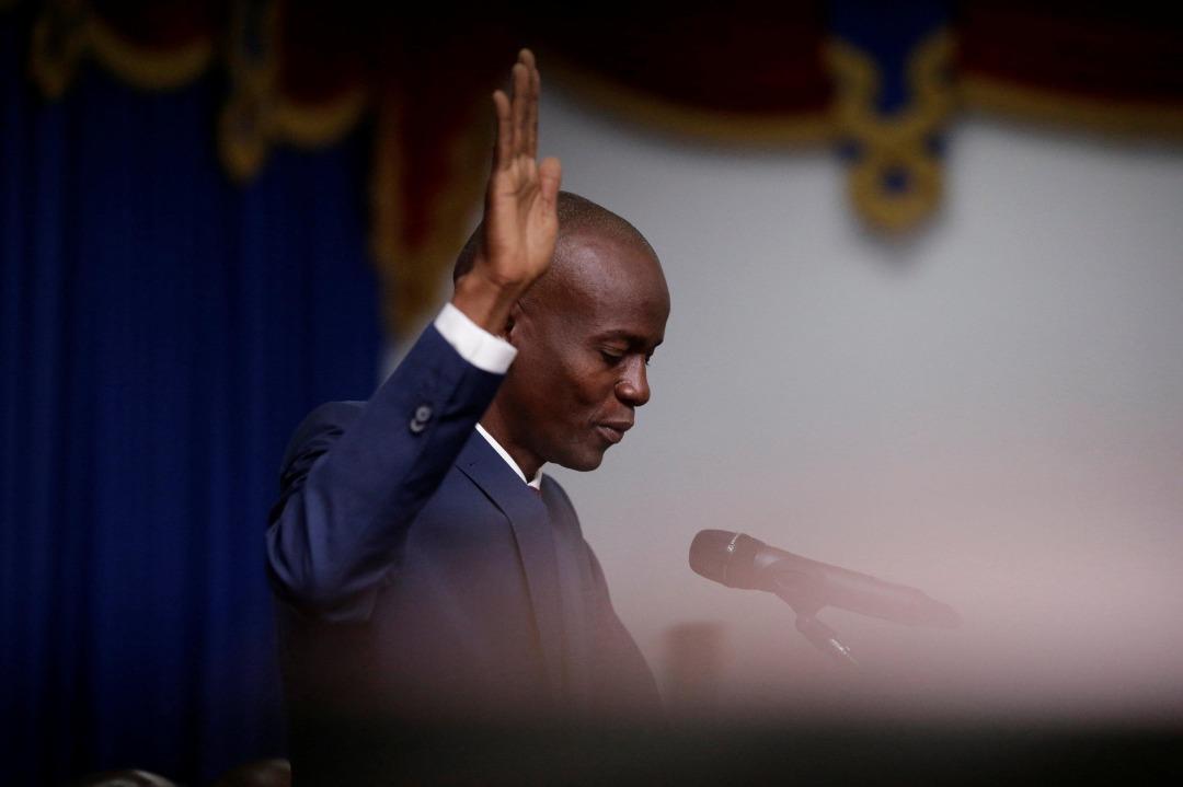 Le président haïtien, Jovenel Moise