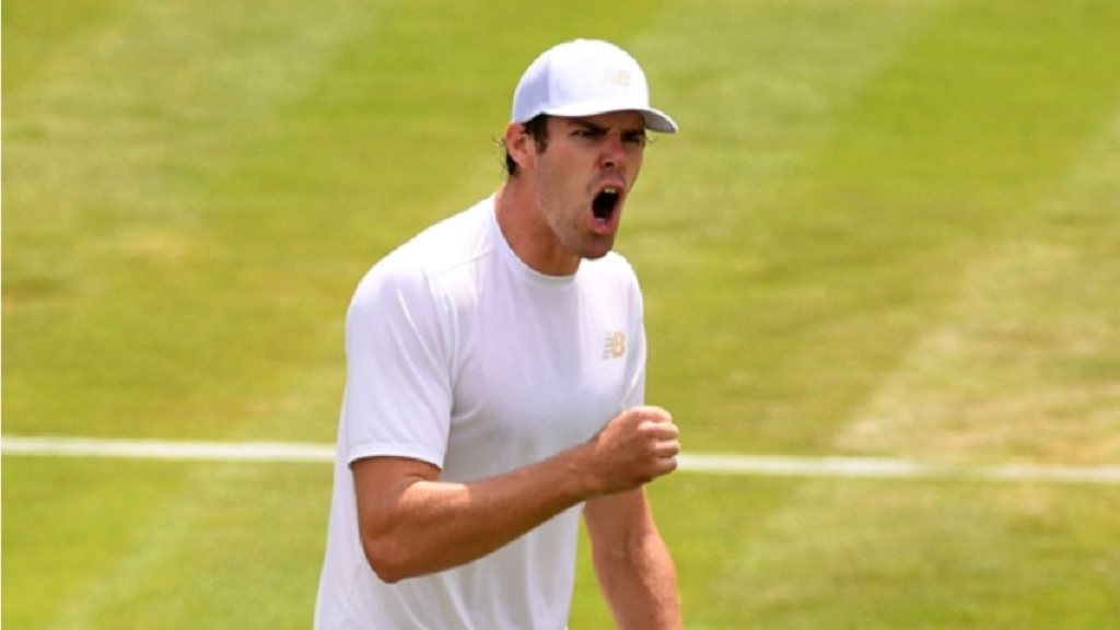 Reilly Opelka shocked Stan Wawrinka at Wimbledon.