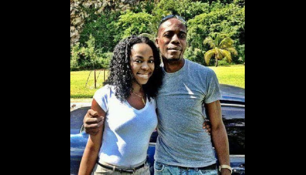 Late singjay J Capri with dad Kenneth Phillips, aka 'Murphy', in happy times.