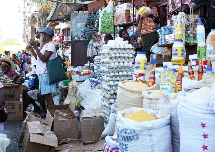 59 % des revenus des Haïtiens sont dépensés dans leur alimentation