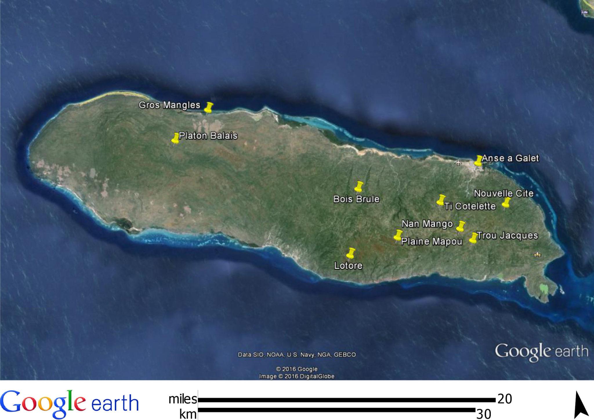 Une Diarrhée qui s'apparente à une épidémie fait des victimes à La Gonâve/ Photo: http://lagonavepartners.org