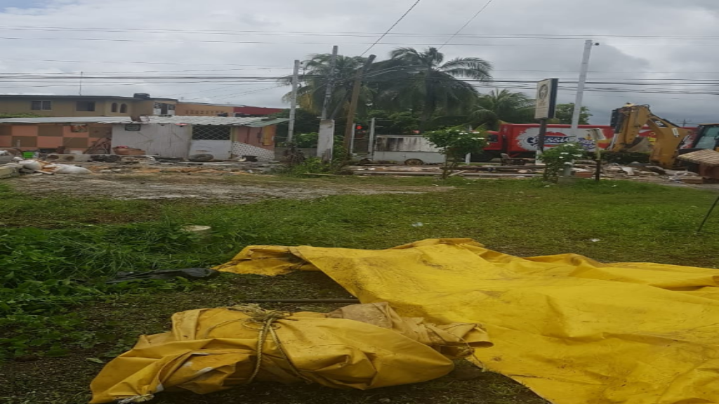 The Housing Development Corporation continues with its exercise to remove illegal structures. Photo courtesy The Housing Development Corporation (HDC).